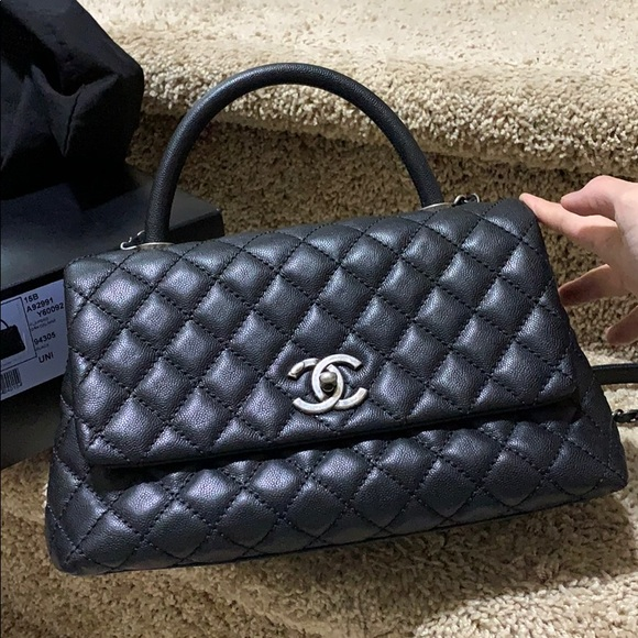 63afee51d819 CHANEL Bags | 99 New Cocohandle Classic Bag With Box | Poshmark